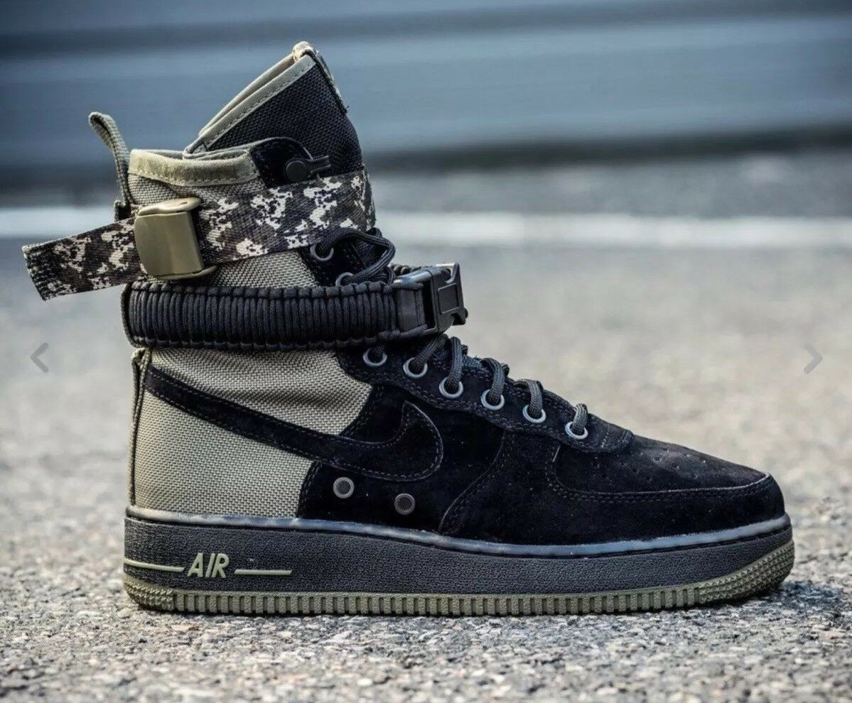 Nike SF Special Field Air Air Air Force 1 AF1 Boot 864024004 Black Olive Camo 987760