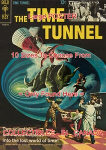 THE-TIME-TUNNEL-1967-1-TV-Show-SCI-FI-POSTER-Not-Comic-Book-10-SIZES-18-034-5-FT