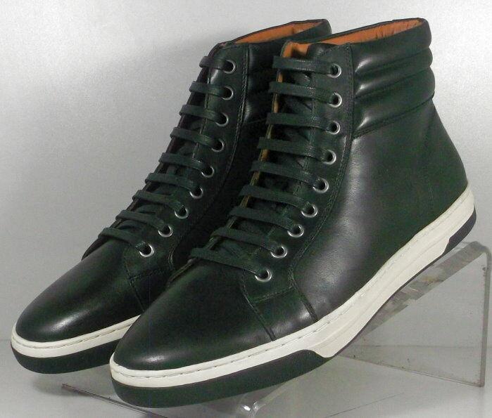 253101 ESBT50 Men's shoes Size 11 M Black Leather Lace Up Johnston & Murphy