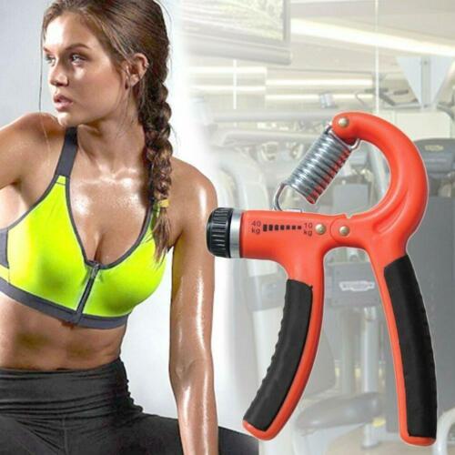 Adjustable Hand Grip Power Exerciser Forearm Wrist Strengthen Gripper