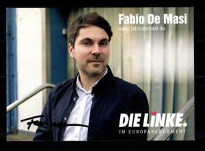 FleißIg Fabio De Masi Autogrammkarte Original Signiert ## Bc 119613 Sammeln & Seltenes