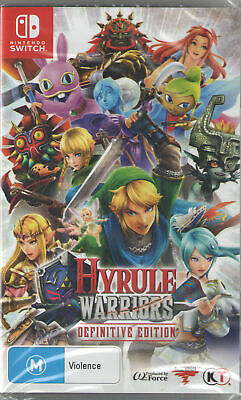 Hyrule Warriors Definitive Edition Nintendo Switch Ebay