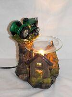 John Deere Big Green Tractor Fragrance Oil Burner Tart Warmer With Dimmer