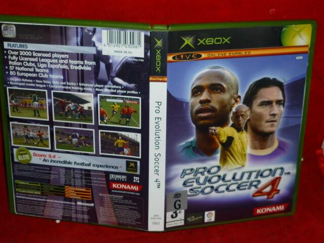 PRO EVOLUTION SOCCER 4 (XBOX GAME, G)