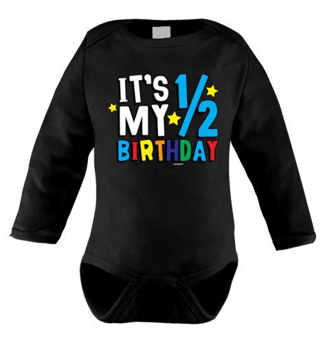 It's My Half Birthday 1/2 Milestone Infant T-Shirt