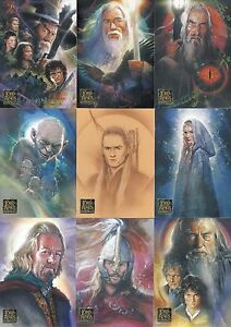 LORD OF THE RINGS RETURN OF THE KING MOVIE UPDATE 2004 TOPPS BASE CARD SET OF 72