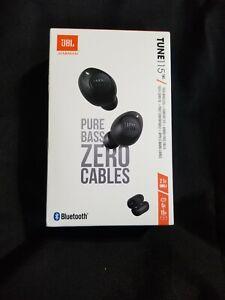 JBL TUNE 115TWS verdadero In-Ear Auriculares Bluetooth Inalámbricos-Negros