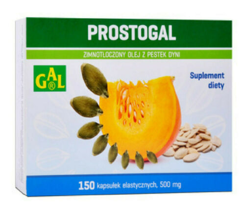 PROSTOGAL Kürbiskernöl  500 mg Harnsystem gesunde Prostata  150 Kapseln *track*