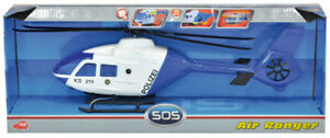 Dickie 203716001 - Sky Patrol - Eurocopter Helicopter (Ca. 31cm) - Polizei - Neu
