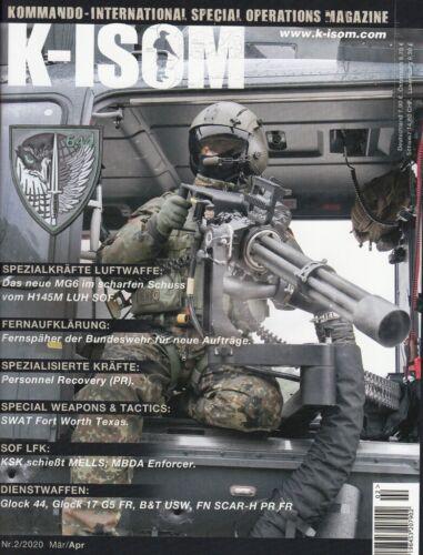 K-ISOM 2//2020 März//April MG6 Spezialkräfte Luftwaffe SWAT KSK SWAT Bundeswehr