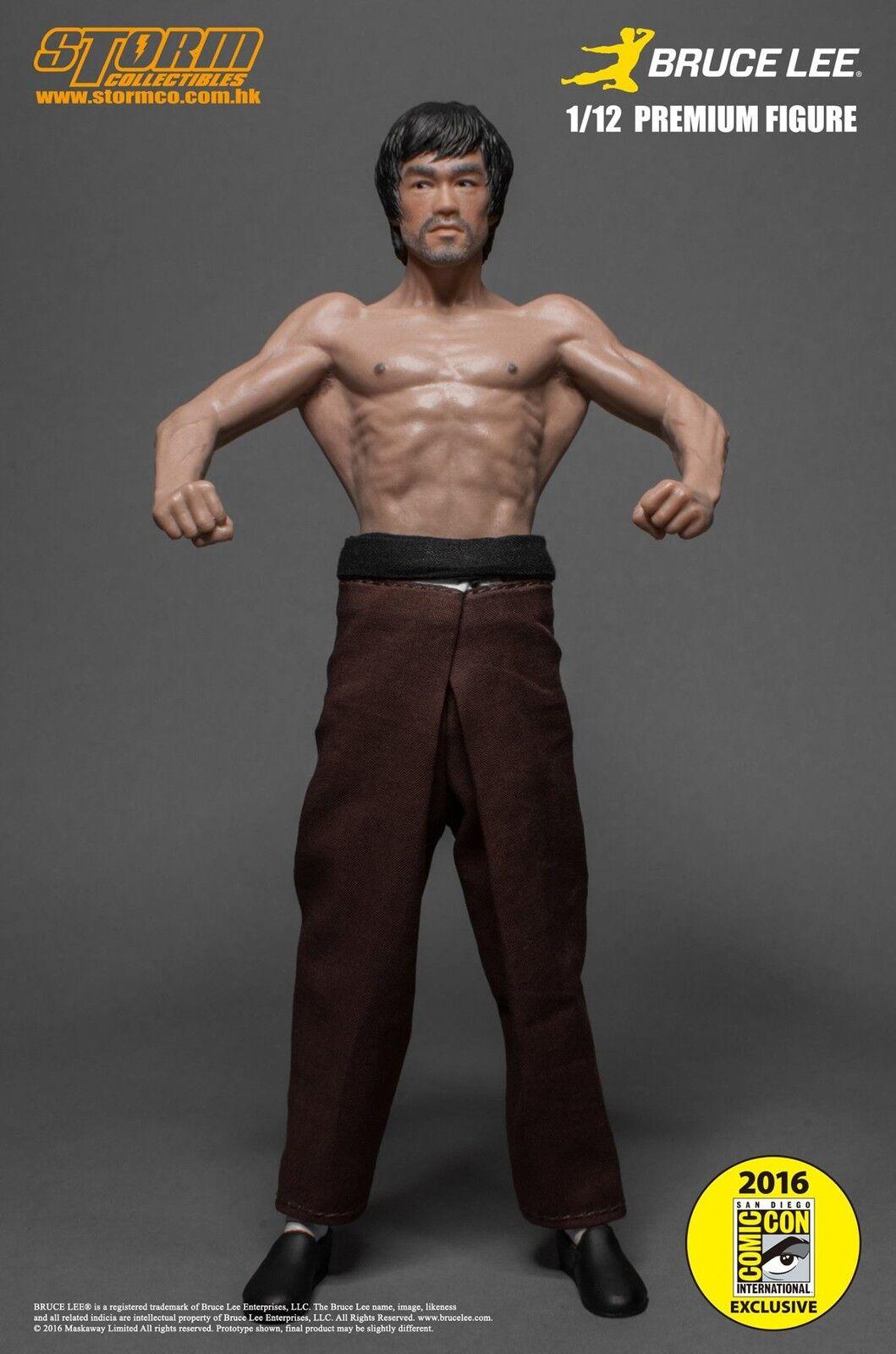 Storm Collectibles 1/12 Scale Premium Figure Bruce Lee SDCC 2016 Exclusive
