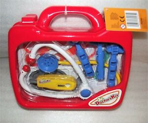 NEW-Doctor-or-Nurse-Medical-Kit-For-Kids-11-pc-set-Pretend-Play-with-Carry-Case