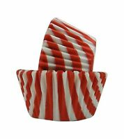 Regency Wraps Greaseproof Baking Cups Red And White Stripes 40-... Free Shipping