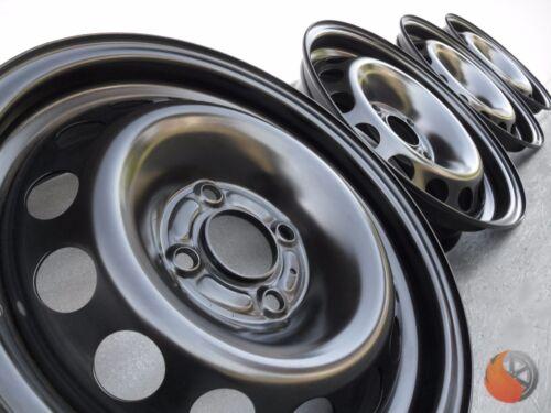 Nuevo 4x acero llantas 6.5x16 et40 4x100 ml60 para Renault Clio Captur R 66-88 kw