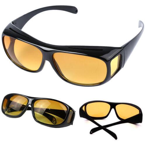 Night Driving Anti Glare Vision HD Glasses Prevention Yellow Driver Sunglasses 1