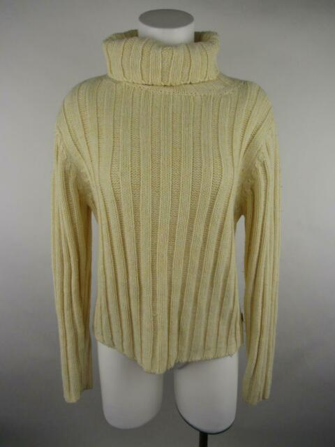 Aeropostale Womens Ribbed Turtleneck Knit Sweater