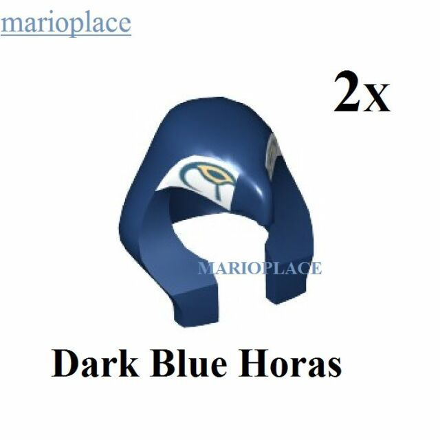Lego Dark Blue Mummy Headdress w// Falcon Pattern Pharoah  NEW