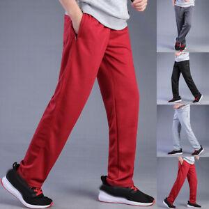 Men/'s Sweatpants Mens Trousers Sweat Jogging Sports Fitness Pants Loose XL-4XL