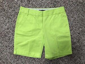 neon green womens shorts