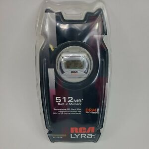 RCA RD1076 Lyra Digital Audio MP3 Player 512 MB Internal Memory W/SD Card Slot