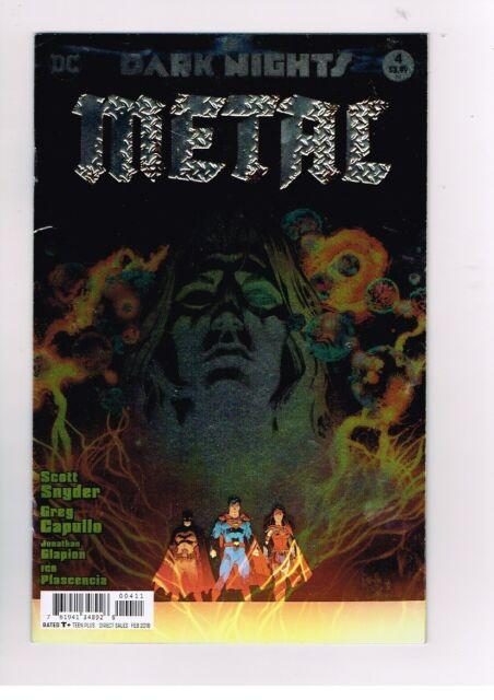 Dark Nights Metal # 4 CHROME COVER Snyder/Capullo- Dc Comic