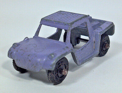 Vintage Tootsietoy Baja Run About Sand Dune Buggy Scale Model Die Cast Metal Vi