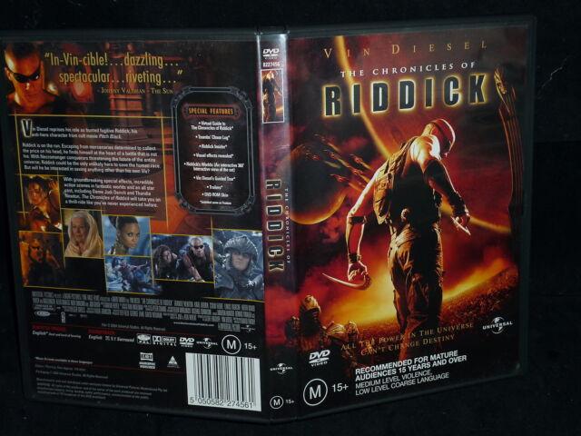 THE CHRONICLES OF RIDDICK (DVD, M)
