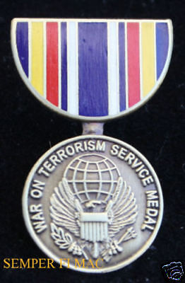 Global War on Terrorism Service MEDAL HAT PIN US NAVY ARMY AIR FORCE MARINES WOW