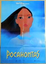 Walt Disney POCAHONTAS original vintage 1 sheet movie poster Teaser B 1995