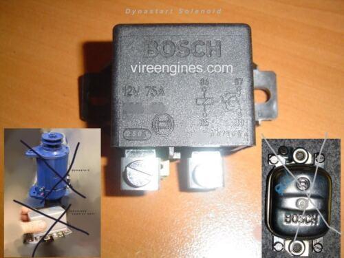 BOSCH DYNASTART SOLENOID for Vire Engines etc