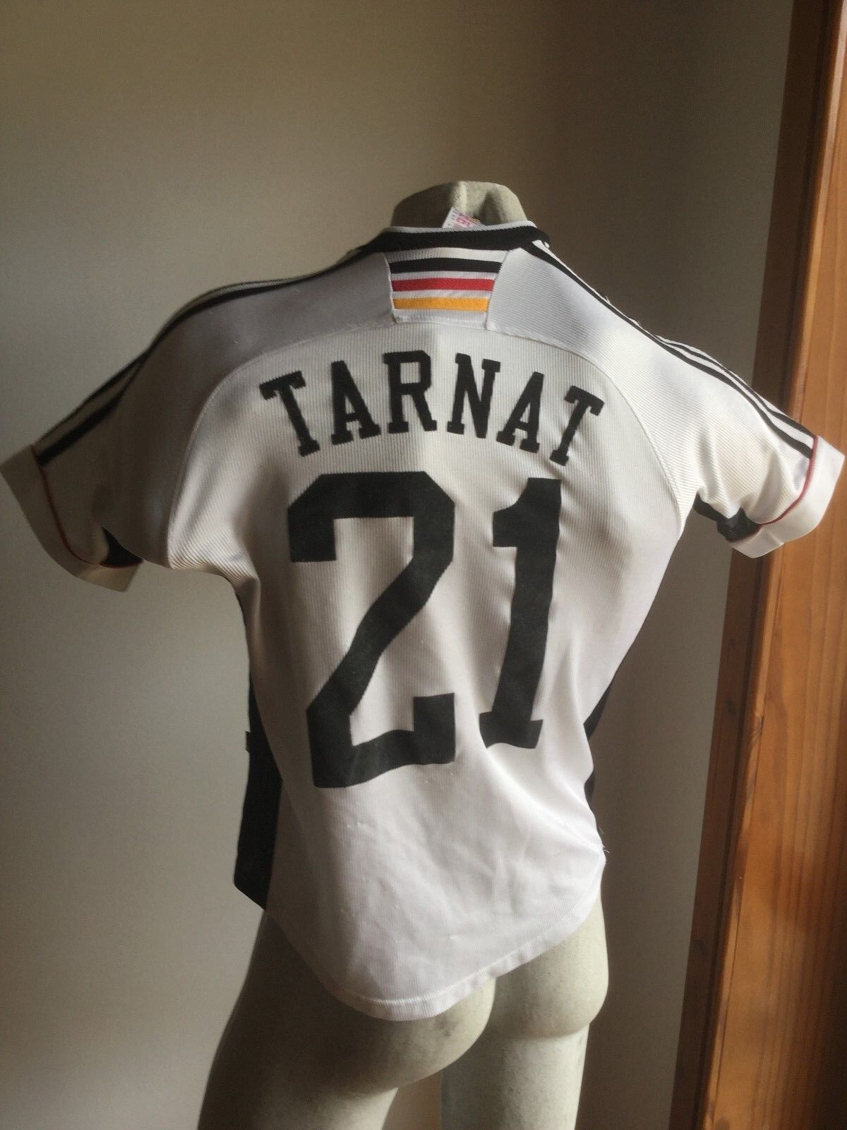 MAGLIA GERMANY 1998 ADIDAS FUSSBALL TRIKOT DEUTSCHE JERSEY VINTAGE  21 TARNAT