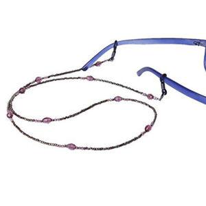Purple-sunglasses-reading-glasses-rope-chain-glasses-chain-anti-skid-chains
