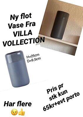 Maße Ø//H 3er Set : je 7//20 cm Villa Collection Denmark Vase