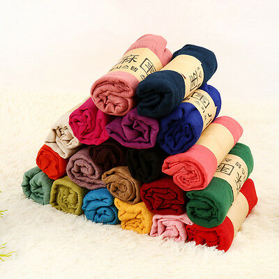 Fashion Women Winter Infinity Gradual Scarves Foulard Cowl Long Scarf Multicolor