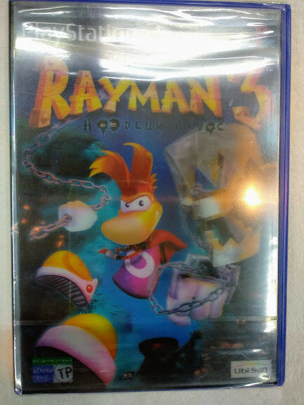 Rayman 3 Hoodlum Havoc para playstation 2 Nuevo y precintado Pal