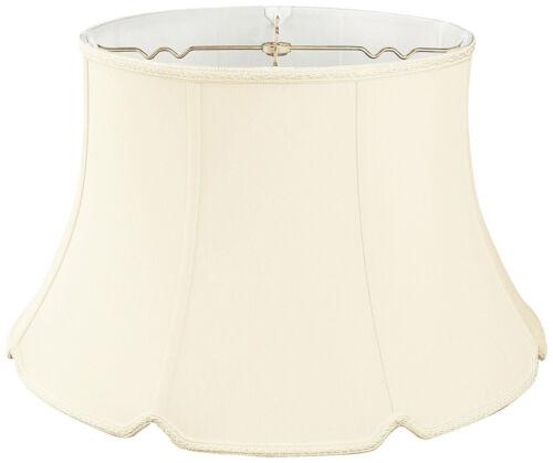 Shallow Drum Bottom V-Notch Designer Lamp Shade