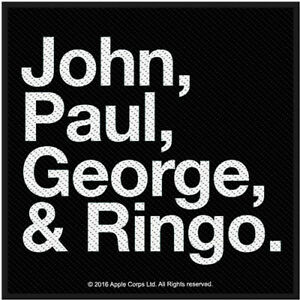 Image Is Loading The Beatles Jon Paul George Amp Ringo Logo