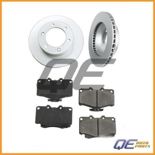 2 Meyle Front Disc Brake Rotors and Cermaic Pads for Toyota 4Runner Tacoma