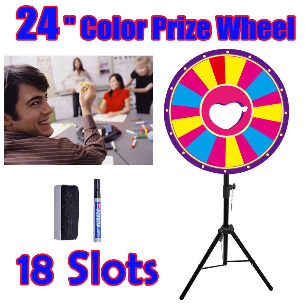 24 pouces la Roue de la Fortune Couleur Prize Wheel φ60cm Fêtes VersiCouleure