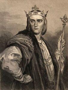 Philippe-III-the-Hardi-King-de-France-Painted-per-Laemlin-Engraved-Rebel-Xixth