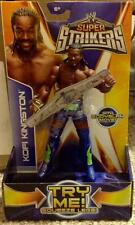 WWE Super Strikers Kofi Kingston Action Figure with Bodyslam Move New MISB