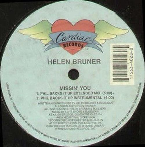 Helen Bruner - Missin' You - Cardiac Records