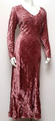 Fits SmM Vintage 90s Goth Mini Dress Black /& Red Crushed Velvet LACE Bell Sleeves