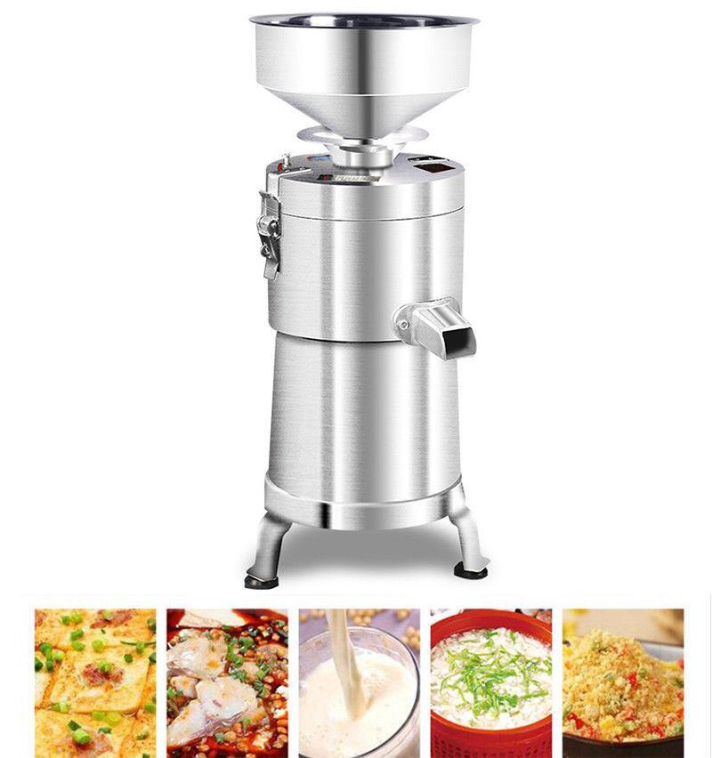Commercial en Acier Inoxydable de soja lait Maker électrique Meuleuse 1500 W 220 V