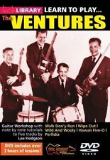 Lick Library LEARN TO PLAY THE VENTURES SURF ROCK Guitar Lessons Video DVD