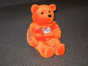 Super-Rare-John-Elway-7-Denver-Broncos-NFL-1999-Salvino-039-s-Bammers-Promo-Bear