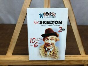 TV-CLASSICS-RED-SKELTON-10-EPISODES-2-DVD-BOX-SET-OVER-6-HOURS