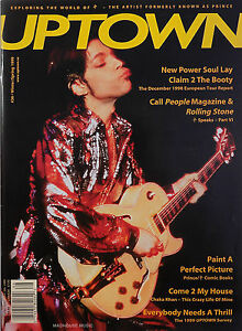 PRINCE-Magazine-UPTOWN-36-Definative-1998-Tour-Report-Comic-Books-Interviews