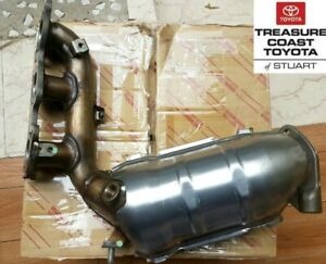 New Oem V6 3mzfe 3 3l Fwd Bank 1 Catalytic Converter Manifold
