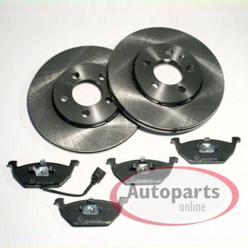 6L1 Bremsscheiben Bremsen Bremsbeläge für vorne Seat Ibiza 3 III